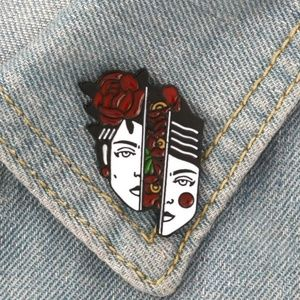 {5/$25} head full of flowers pin